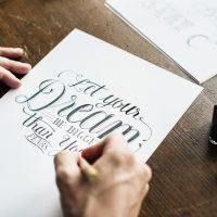 kaligrafowanie